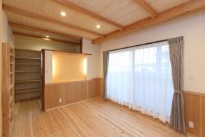 株式会社木の城いちばんの完成見学会のお知らせ。