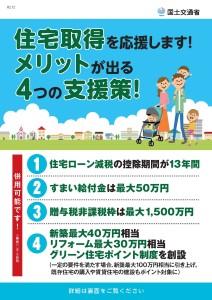 住宅支援4つの支援策