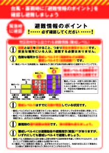 避難行動判定フロー3